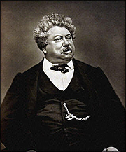 """Author photo. From <a href=""""http://en.wikipedia.org/wiki/Image:Alexandre_Dumas.jpg"""">Wikimedia Commons</a>"""