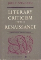 A history of literary criticism in the…