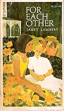For Each Other by Janet Lambert