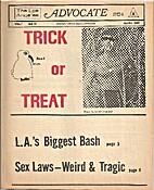Advocate Magazine (Issue #14) Sex Laws --…