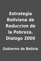 Estrategia Boliviana de Reduccion de la…