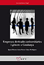 Empreses derivades universitàries i gènere…