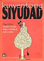 Kuwentong siyudad by Roland B Tolentino