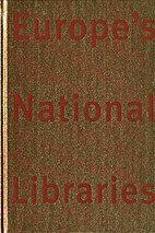 European national libraries : 15 years of…
