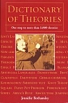 Dictionary of Theories by Jennifer Bothamley