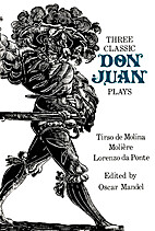 Three Classic Don Juan Plays (Bison Book) by…