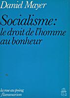 Socialisme, le droit de l'homme au…
