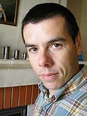 Author photo. Sébastien Lheritier, éditions Mille Poètes