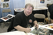 Author photo. Dave Dorman, Celebration IV.  Photo by Scott Ruether, Official Star Wars Blog / Flickr.