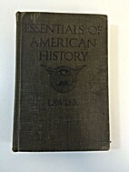 Essentials of American History by Thomas…