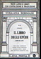 Il libro degli epòdi espurgato by Horace