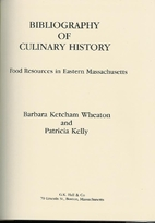 Bibliography of Culinary History: Food…