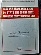 NAGORNY KARABAKH'S RIGHT TO STATE…