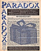 Paradox, Dec. 1999 by Ron Van Dyke