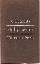 5 Detroits by Philip Levine