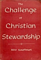 The challenge of Christian stewardship by…