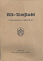 Alt-Umstadt; 12 Federzeichungen von Lutz…