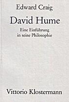 David Hume. Eine Einführung in seine…