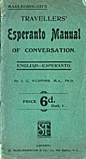 Marlborough's Travellers' Esperanto Manual…