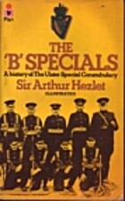 B Specials: History of the Ulster Special…