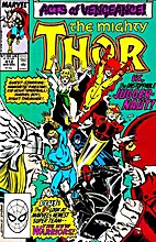 Mighty Thor #412 (Introducing...The New…