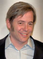 Author photo. Matthew Broderick