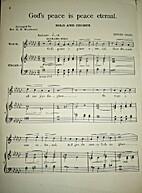 God's Peace is Peace Eternal by Edward Grieg