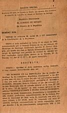Gaceta Oficial: Santo Domingo, 1962. Año…