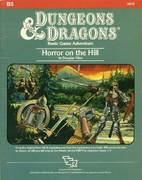 B5: Horror on the Hill by Douglas Niles