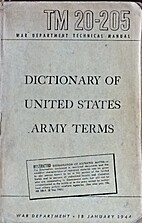 Dictionary of United States Army Terms by…