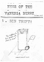 News of the Vanessa Berry, Autumn 2007 by…