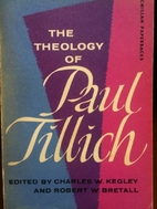 The Theology of Paul Tillich by Charles W.…