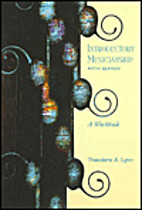 Introductory Musicianship: A Workbook by…