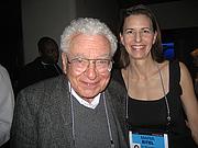 Author photo. Murray Gell-Mann with Maria Eitel (Credit: Pierre Omidyar, Flickr)