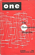 ONE Magazine The Homophile in Society…