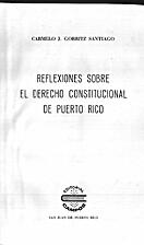 Reflexiones sobre el derecho constitucional…