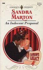 An Indecent Proposal by Sandra Marton