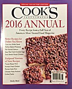 Cooks Illustrated 2016 Annual by b