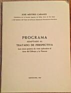 Programa adaptado al tratado de perspectiva…