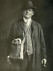 Author photo. Image from <b><i>&quot;We'll stick to the finish!&quot;</i></b> (1918) by Joseph Mitchell Chapple