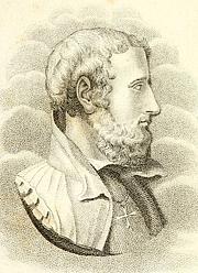Author photo. Annibal Caro. Frontispiece from Scelta di lettere familiari del commendatore Annibal Caro (1825)