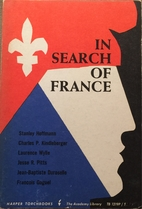 In Search of France: The Economy, Society,…