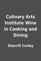 Culinary Arts Institute Wine in Cooking and…