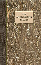 The Anglo-Saxon Elegies by Kevin…