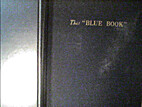 The Blue book: a bibliographical attempt…