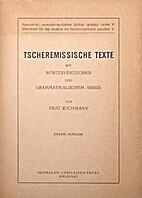 Tscheremissische Texte mit…