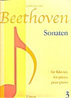 Sonaten für Klavier 3 by Ludwig van…