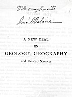 A New Deal in Geology, Geography and Related…