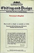 Newsman's English by Harold Evans