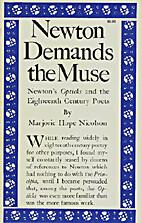 Newton demands the muse;: Newton's…